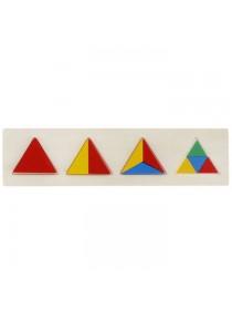 """Рамка-вкладыш """"Геометрия. Треугольник"""""""