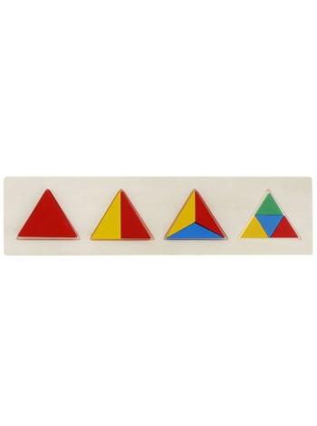 """Рамка-вкладыш """"Геометрия. Треугольник"""" купить"""