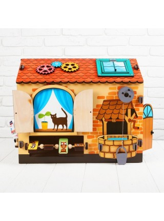 Развивающая игра Бизиборд: Чудо-дом Мастер игрушек IG0252