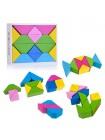 Кубики Цветные треугольники купить