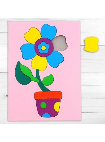 Головоломка «Собери картинку: цветочек» купить