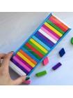 Конструктор для детей «Цветные плашки» купить