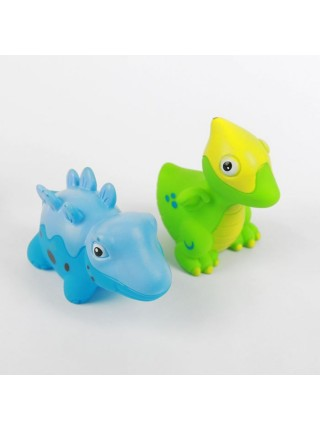 Набор игрушек для ванной «Динозаврики», 4 штуки