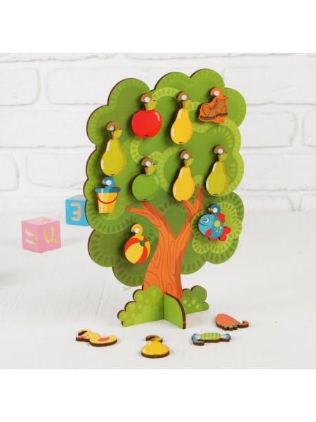 Сортер-дерево «Что на дереве растет»