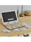 Деревянный Ноутбук Алфавит Радуга Кидс, купить
