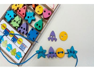 <Новые идеи с большим шнуровальным набором от Smile Decor Ш004