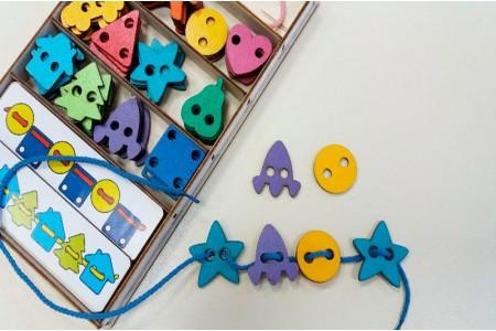 Новые идеи с большим шнуровальным набором от Smile Decor Ш004