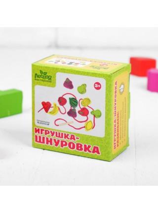 "Шнуровка ""Фрукты"" 24 элемента"