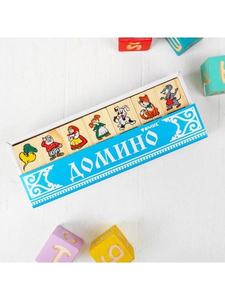 Настольная игра домино Репка, Томик 5555-6