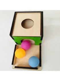 Коробочка с шариками Монтессори