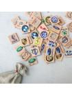 Мемори «Авто эмблемы» в мешочке Царицынская игрушка (Радуга Кидс) купить