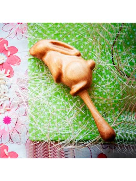 Шумелка детская деревянная «Зайка», Томик 705-1