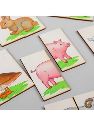 Картинки-половинки Ферма, Smile decor П209