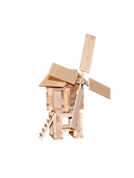 Конструктор Ветряная мельница, 146 деталей, Пелси К592
