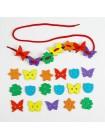 Шнуровка Бабочки, цветочки купить