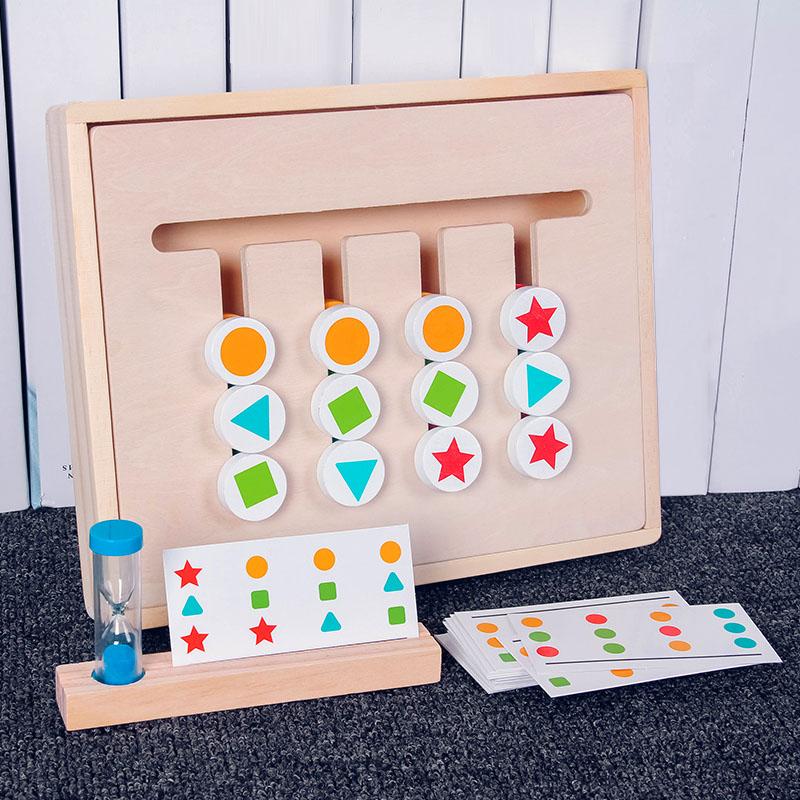 Развивающие деревянные игрушки